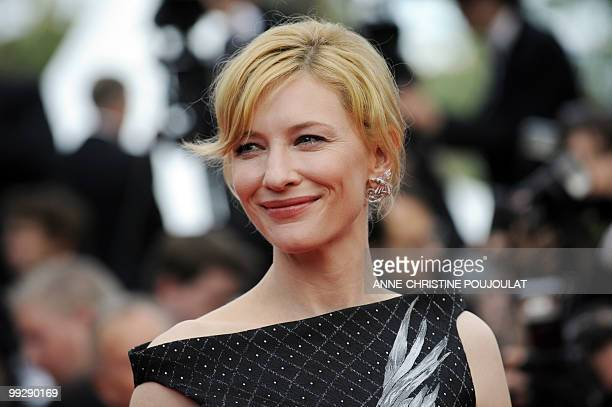 Australian actress Cate Blanchett arrives for the opening ceremony and screening of 'Robin Hood' presented out of competition at the 63rd Cannes Film...