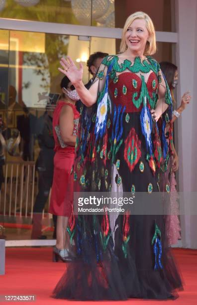 Australian actress Cate Blanchett at the 77 Venice International Film Festival 2020 Closing ceremony red carpet Venice September 12th 2020