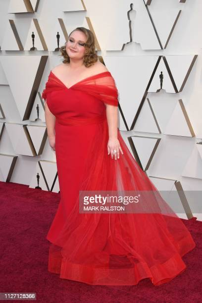 Australian actress Danielle Macdonald arrives for the 91st Annual Academy Awards at the Dolby Theatre in Hollywood California on February 24 2019
