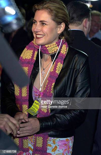 Australian actress Dee Smart arrives for the premiere of the film 'Mission Impossible 2' at Fox Studios on May 30 2000 in Sydney Australia