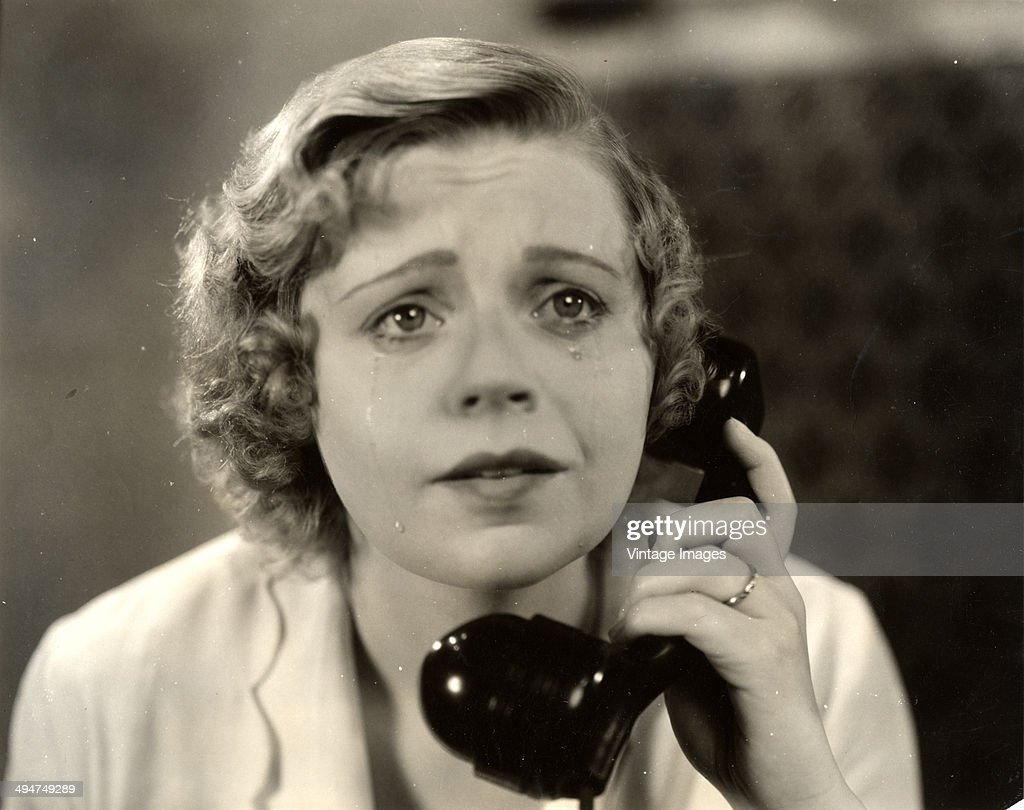 Australian actress Dulcie Cooper (1903 - 1981) in a scene from the film 'The Face on the Barroom Floor', 1932.