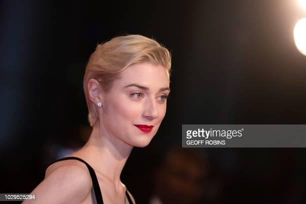 Australian actress Elizabeth Debicki attends the premiere of 'Widows' at the Toronto International Film Festival in Toronto, Ontario, September 8,...