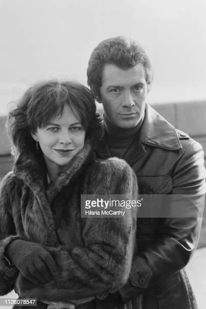 Australian actress Judy Davis and English actor Lewis Collins UK 15th January 1982
