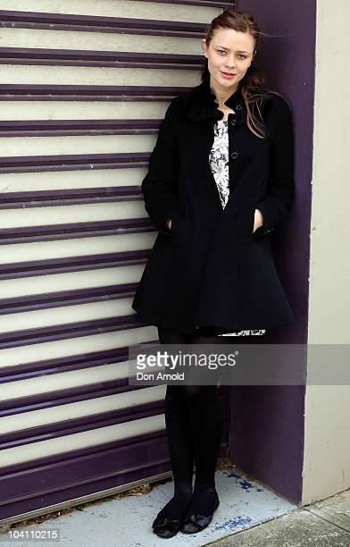 Australian actress Maeve Dermody arrives at the 2011 season launch at the Belvoir Street Theatre on September 15 2010 in Sydney Australia