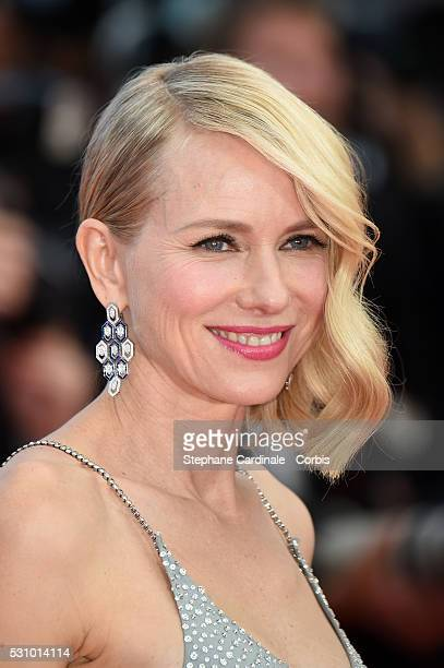 Australian actress Naomi Watts attends the Money Monster premiere during the 69th annual Cannes Film Festival at the Palais des Festivals on May 12...