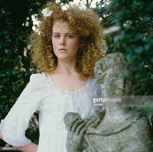 Australian actress Nicole Kidman 1st June 1986