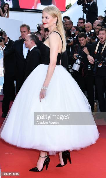 Australian actress Nicole Kidman arrives for the premiere of the film 'The Killing of a Sacred Deer' in competition at the 70th annual Cannes Film...