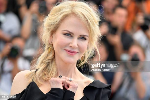 Australian actress Nicole Kidman poses during a photocall for the film Top Of The Lake China Girl photocall out of competition at the 70th annual...