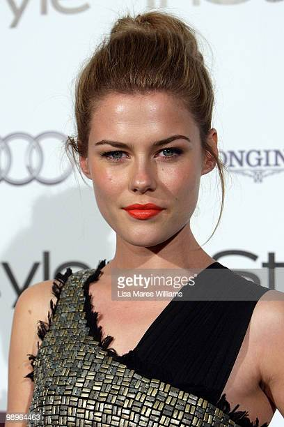 Australian actress Rachael Taylor attends the InStyle and Audi Women of Style Awards at Australian Technology Park on May 11 2010 in Sydney Australia