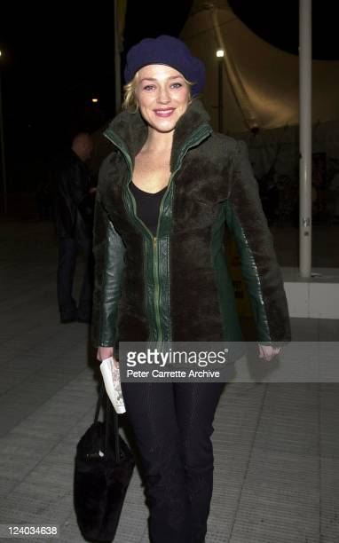 Australian actress Susie Porter arrives for the opening night of the Cirque du Soleil production of 'Alegria' under the Grand Chapiteau at Moore Park...