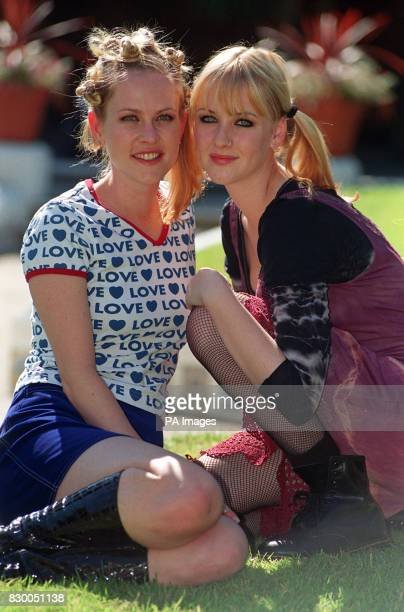 Australian actresses Louise Crawford and Angela Keep in London today for the Launch of their new family drama series set in Australian called...