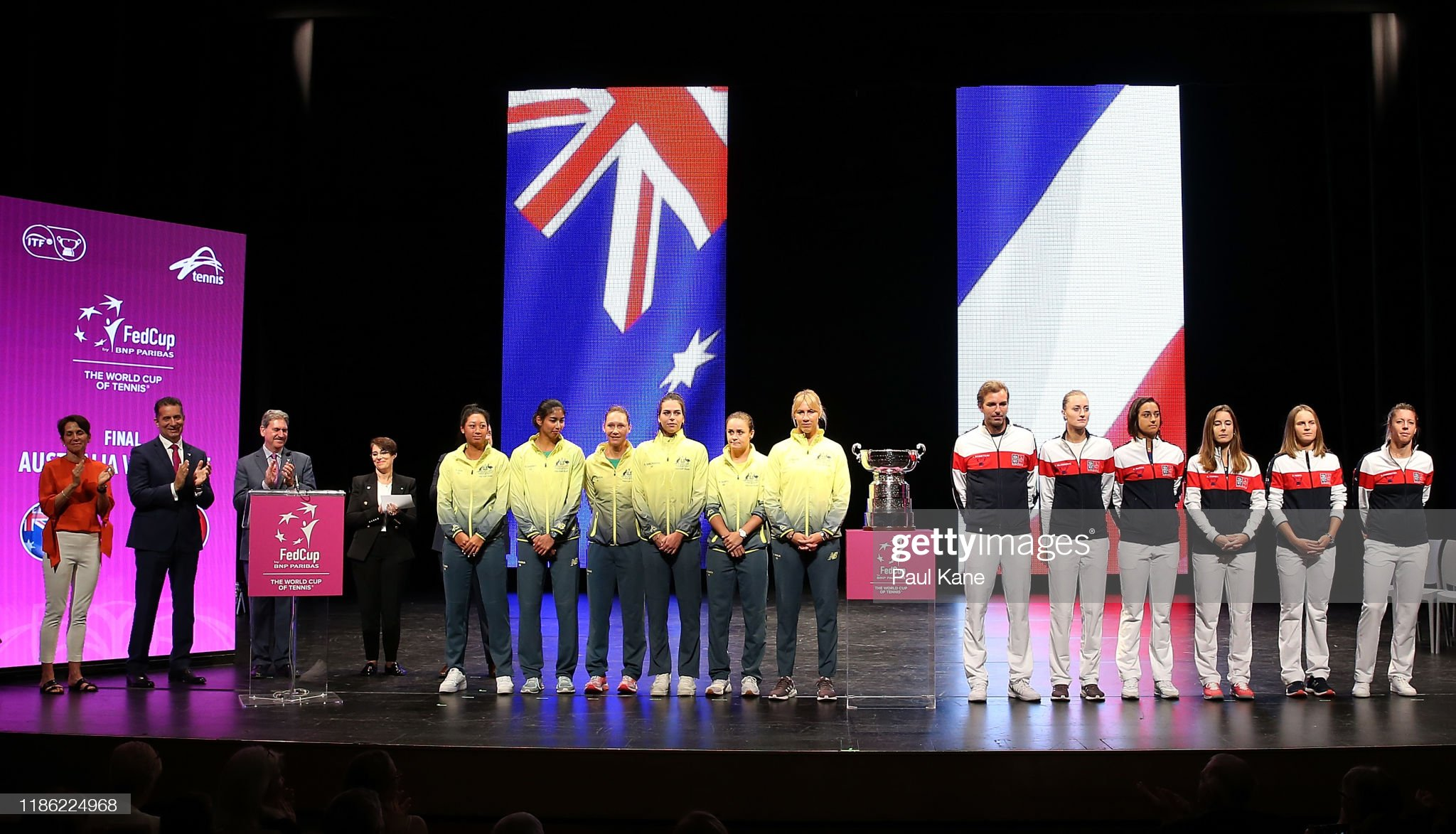 2019 Fed Cup Final Official Draw : News Photo