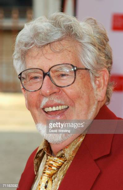 Australian artist, musician and tv presenter Rolf Harris arrives at the 2006 Summer Exhibition Preview Party at the Royal Academy in Piccadilly on...