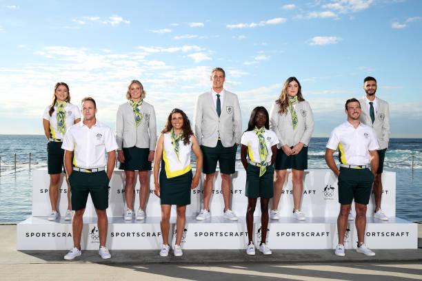 AUS: Australian Tokyo Olympic Games Opening Ceremony Uniform Launch
