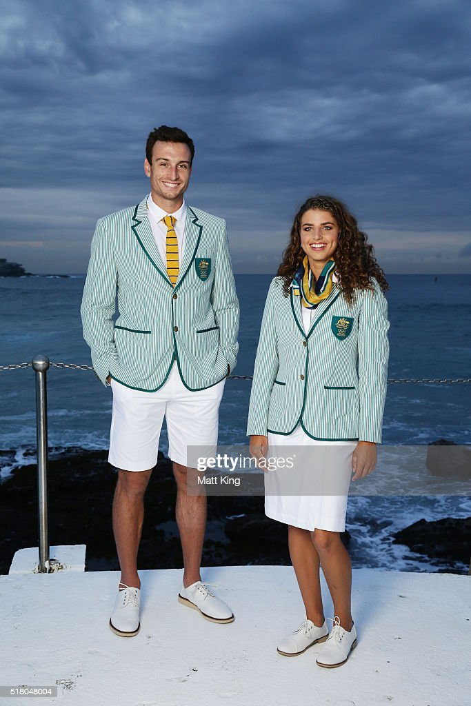 Australian Olympic Games Opening Ceremony Uniform Official Launch : News Photo