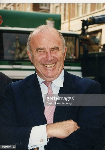 Australian author and broadcaster Clive James circa 2000