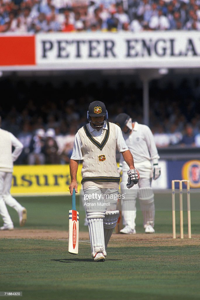 Marsh Out For 138 : News Photo
