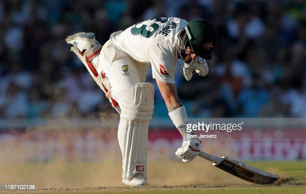 Australian batsman Matthew Wade scampers a quick single during day four of the England v Australia 5th Ashes test match at The Oval on September 15th...