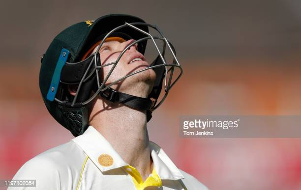 Australian batsman Steve Smith walks off after dismissal during day four of the England v Australia 5th Ashes test match at The Oval on September...