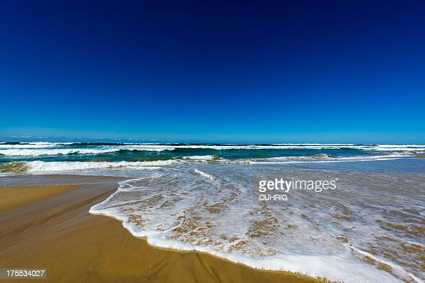 Australian Beach clear blue sky copyspace