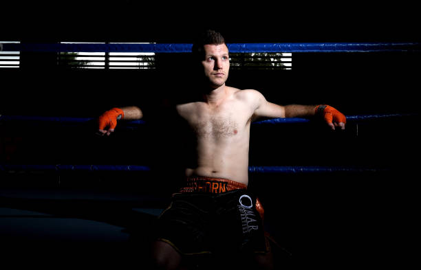 AUS: Jeff Horn Training Session