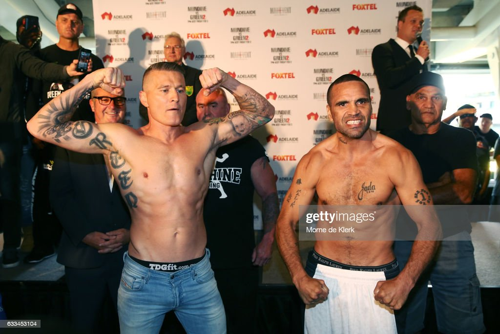 Mundine v Green - Official Weigh In