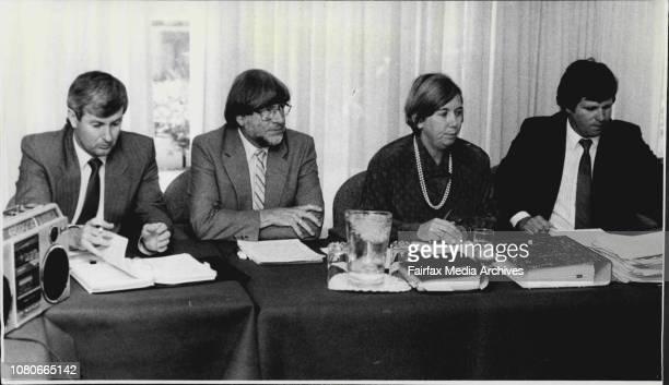 Australian Broadcasting Tribunal at North Sydney Media takeover case todayJanuary 22 1987