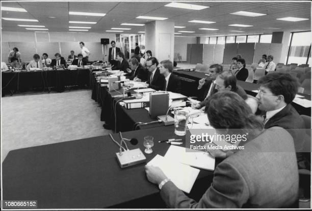 Australian Broadcasting Tribunal hearing at 4th floor 65 Berry st Nth Sydney February 02 1987