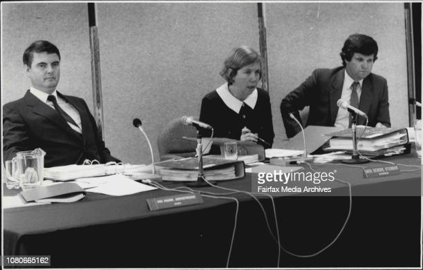 Australian Broadcasting Tribunal hearing at 4th floor 65 Berry St Nth SydneyThe Tribunal February 02 1987
