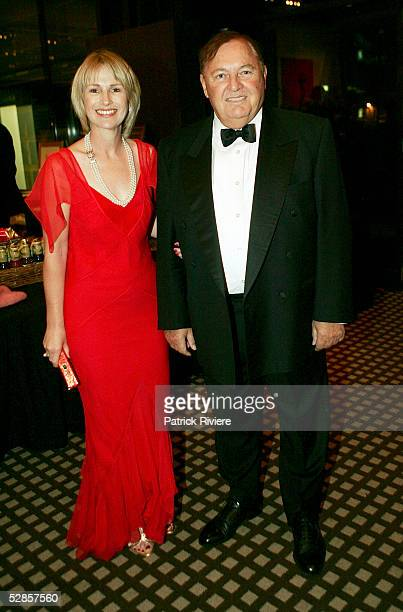 Australian Businessman Alan Bond and his wife Diana attend the fundraising charity event 'A Night of Pearl and Plonk at the Doltone House on May 17...