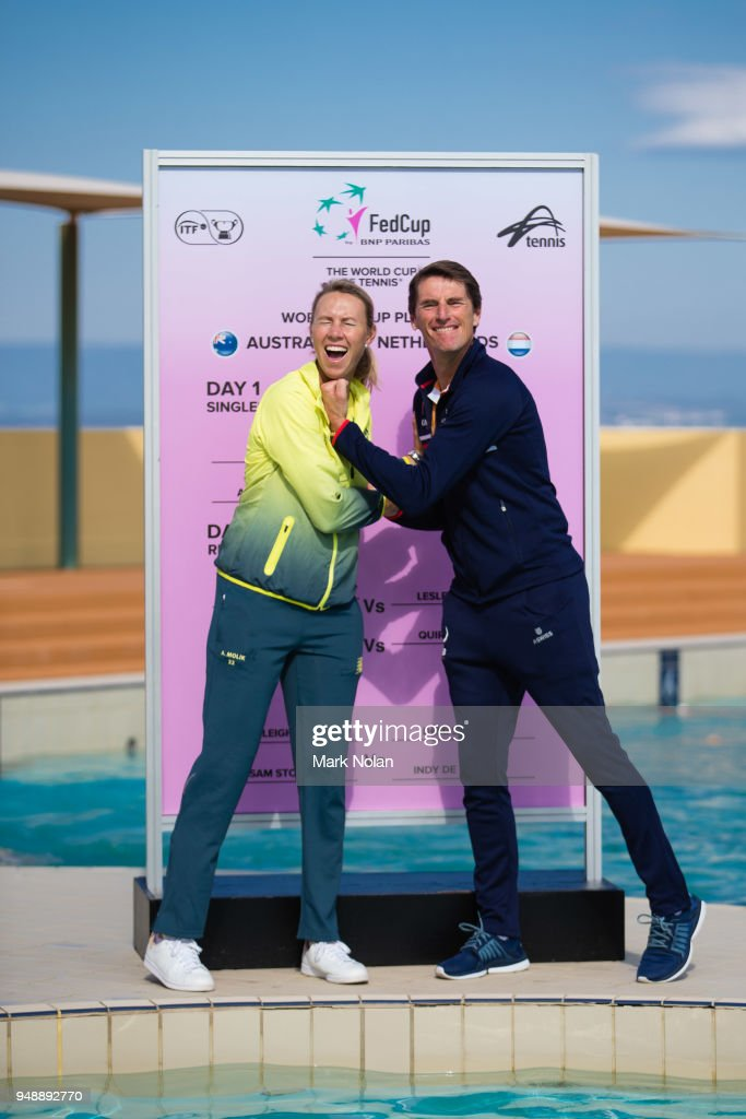 Official Draw: Australia v Netherlands - Fed Cup World Group Play-off