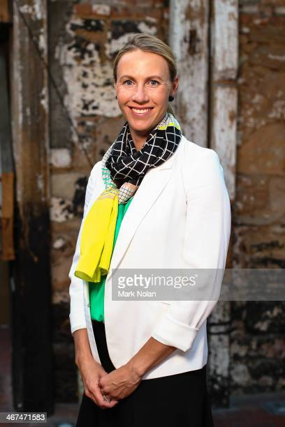 Australian captain Alicia Molik poses for a portrait before the official dinner ahead of the Fed Cup Tie between Australia and Russia on February 6...