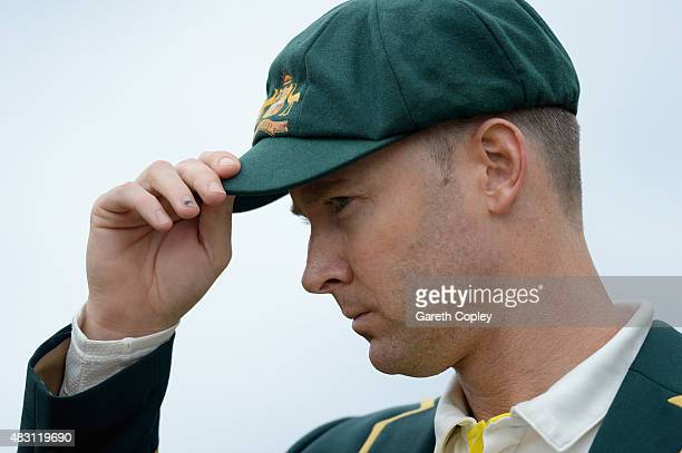 Australian captain Michael Clarke reacts after losing the toss ahead of day one of the 4th Investec Ashes Test match between England and Australia at...