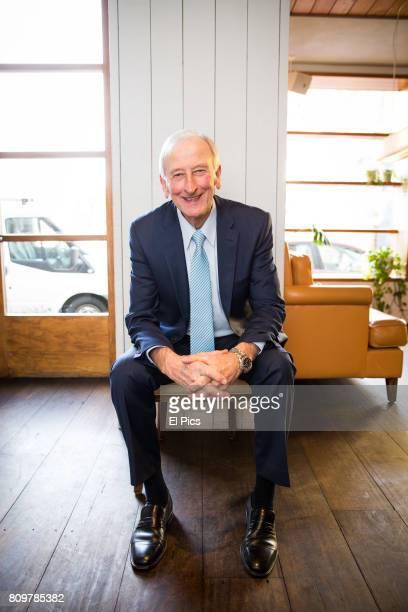 Australian cricket legend Bill Lawry poses for a portrait on July 4 2017 in Sydney Australia