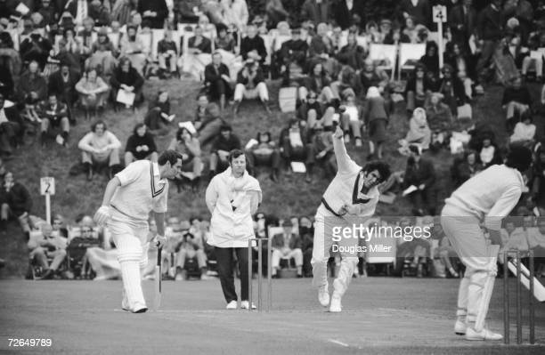 Australian cricketer David Colley in action 25th April 1972