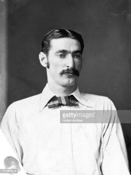 Australian cricketer Frederick Robert Spofforth circa 1880