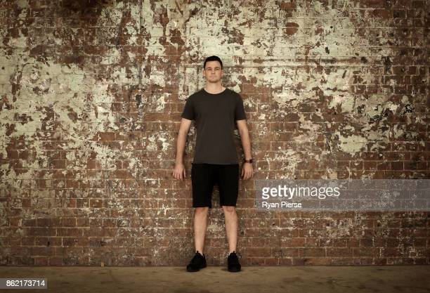 Australian Cricketer Peter Handscomb poses during a portrait session at Carriageworks on October 17 2017 in Sydney Australia
