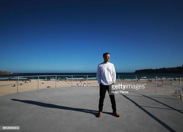 Australian Cricketer Peter Nevill poses during a portrait session at Bondi Beach on October 12 2017 in Sydney Australia