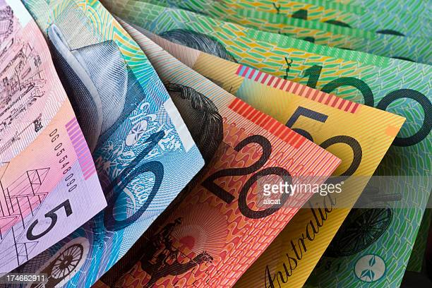 australian currency - australian culture stock pictures, royalty-free photos & images