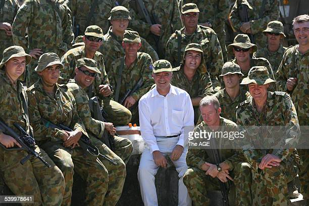 Australian Defence Minister Brendan Nelson visits Australian soldiers in East Timor's capital Dili The troops have been stationed there as a...