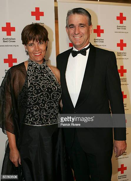 Australian Deputy Prime Minister John Anderson and his wife attend the Australian Red Cross 90th Anniversary Gala at the Westin Hotel March 2 2005 in...