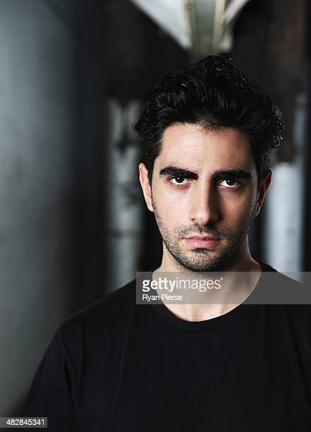 Australian designer Christopher Esber poses for a portrait ahead of MercedesBenz Fashion Week Australia 2014 on April 5 2014 in Sydney Australia...