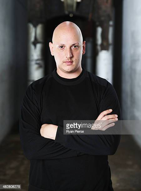 Australian designer Michael Lo Sordo poses for a portrait ahead of MercedesBenz Fashion Week Australia 2014 on April 5 2014 in Sydney Australia...