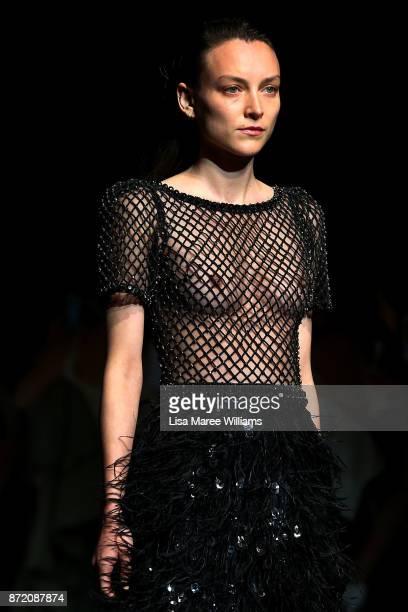 Australian designers showcase collections during the 2017 Australian Fashion Laureate Awards on November 9 2017 in Sydney Australia