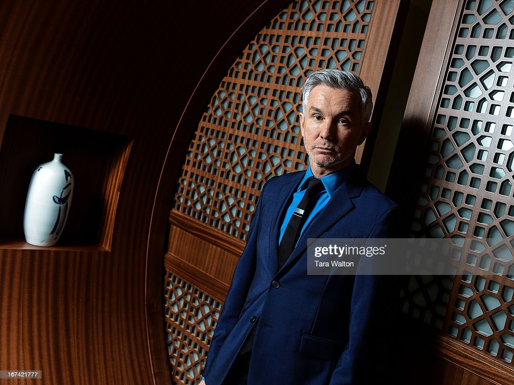 Australian director Baz Luhrmann poses for a photo Wednesday April 24, 2013 in Toronto's Shangri-La Hotel. Luhrmann is in town promoting his new film, The Great Gatsby opening May 10th.
