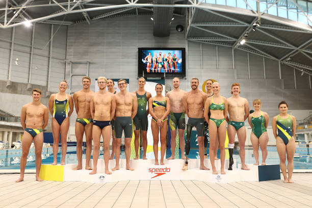 AUS: Australian 2020 Tokyo Olympic Games Swimming Uniform Launch