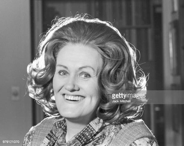 Australian dramatic coloratura soprano Joan Sutherland photographed in February 1976