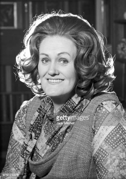 Australian dramatic coloratura soprano Joan Sutherland photographed in February 1976