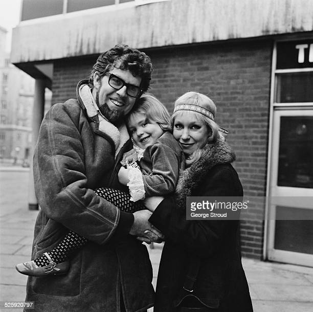 Australian entertainer Rolf Harris with his wife Alwen and their daughter Bindi London 16th December 1969