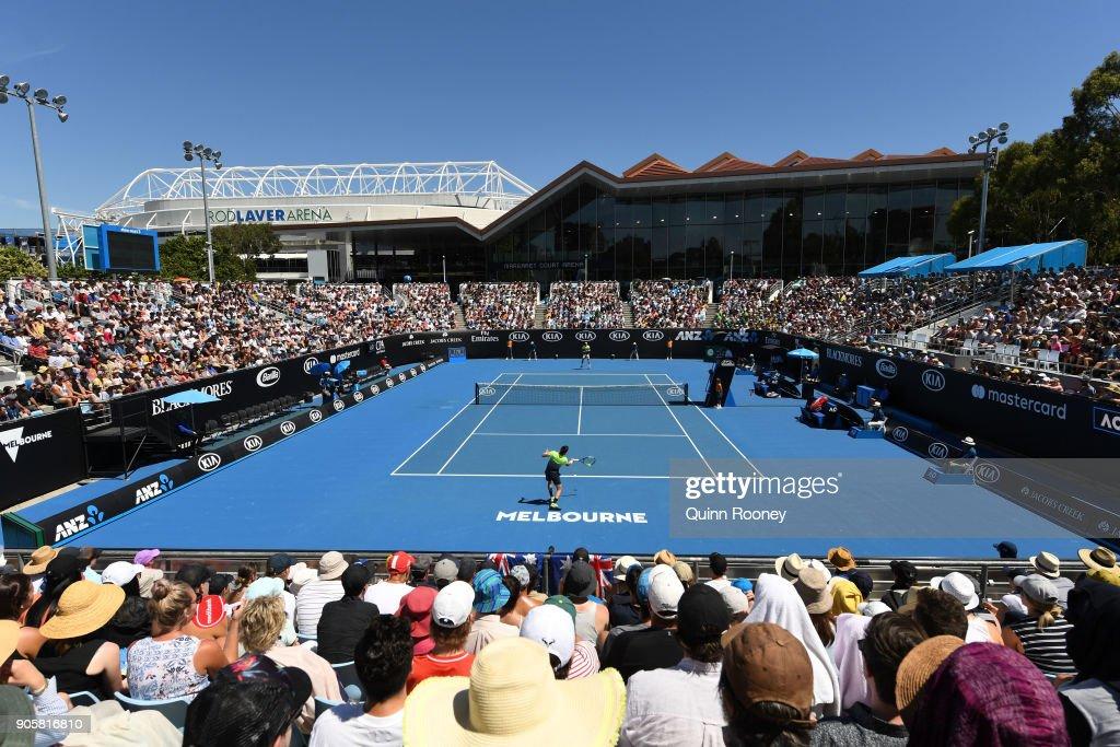 2018 Australian Open - Day 3